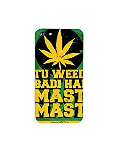 Wear Your Opinion Printed Mobile Back Cover | Phone Case | Phone Covers For Iphone 5C , TU WEED BADI MAST