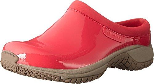 Merrell Encore Slide Pro Shine Geranium Patent Women's Clogs Size US 9.5 M …