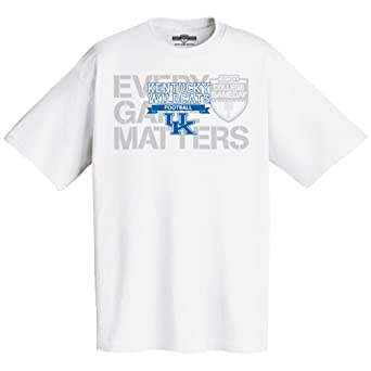 NCAA Kentucky Showthrough Showoff Short Sleeve Tee by Majestic