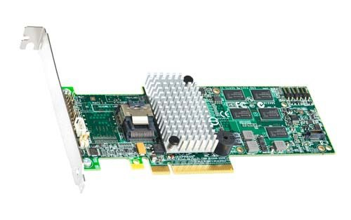 Intel RAID Controller RS2BL040 Contrôleur de stockage (RAID) 4 Canal SATA-300 / SAS 2.0 faible encombrement 600 Mo/s RAID 0, 1, 5, 6, 10, 50, 60 PCI Express 2.0 x8