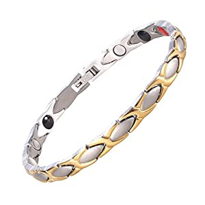 Magnetic balance bracelet 1 4 in gift box amazon co uk jewellery