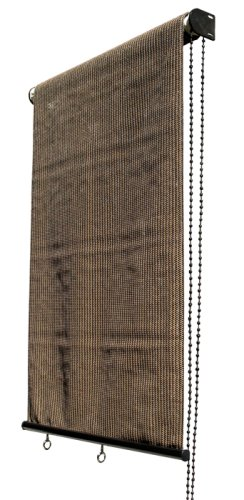 Coolaroo Select Series Top Roll up Sun Shade 10 Feet by 6 Feet, Mocha