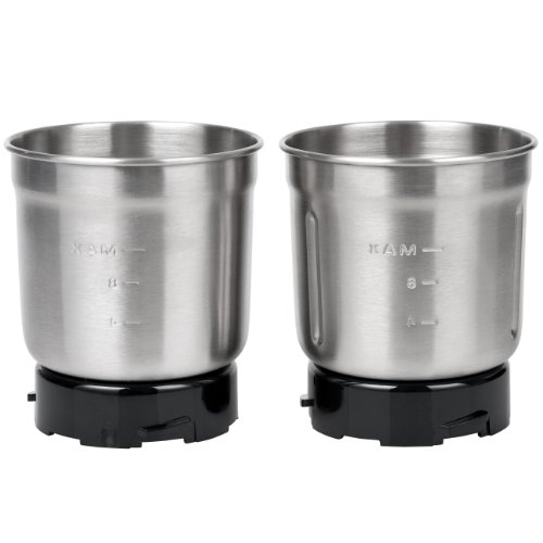 Secura Electric Coffee Spice Grinder Stainless Steel Removable Bowl Set For Model #Sp-7412