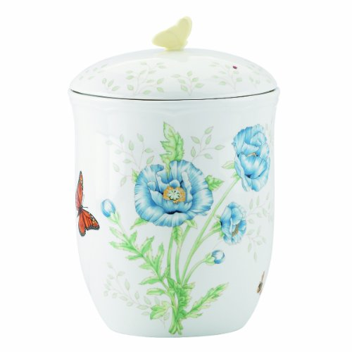 Lenox Butterfly Meadow 9-Inch Tall Canister