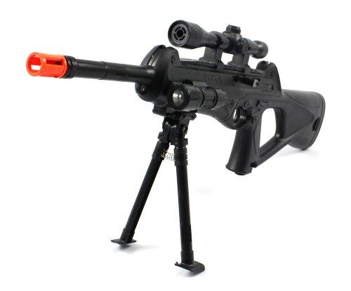 Mini Unseen 188 Spring Airsoft Gun Sniper FPS-250 w/ Bi-Pod