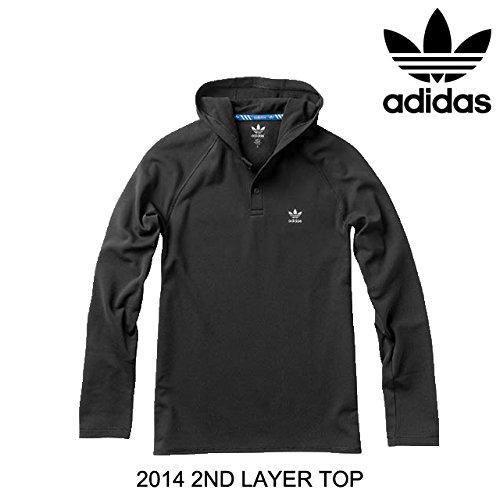 2014 ADIDAS アディダス 2ND LAYER TOP BLACK M (USサイズ) [並行輸入品]