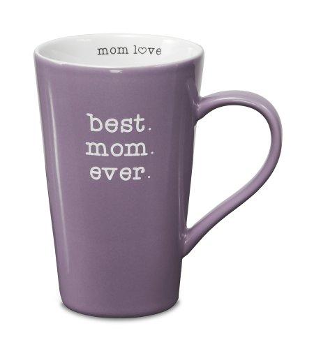 Pavilion Gift Company 14016 Stoneware Mug, Best Mom Ever front-499368