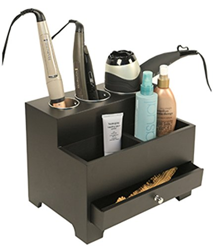 Personal Espresso Hair Styling Organizer – Storage And Organization Products