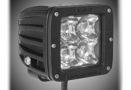 Rigid Industries Amber Dually Led Lights. Reverse Light On Truck. Handlebar Light. Select Flood Or Spot Light. Duallyambseries