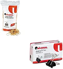 KITUNV00112UNV10200 - Value Kit - Universal Rubber Bands UNV00112 and Universal Small Binder Clips U