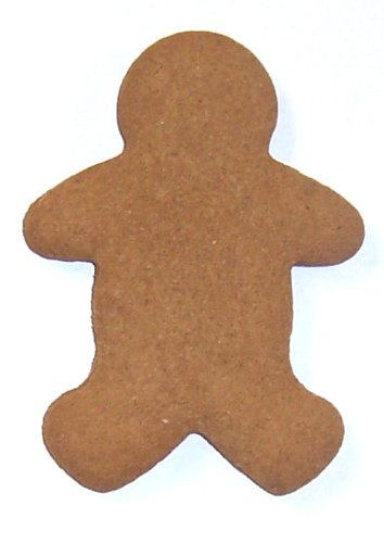 Scott's Cakes Undecorated Tiny Christmas Gingerbread Men Sugar Cookies