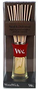 WoodWick Mini Reed Diffuser, Sand and Driftwood