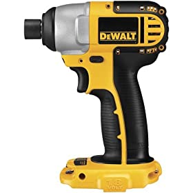 "DeWalt DC825B 18-Volt Cordless 1/4"" Hex Impact Driver (Tool Only, No Battery)"