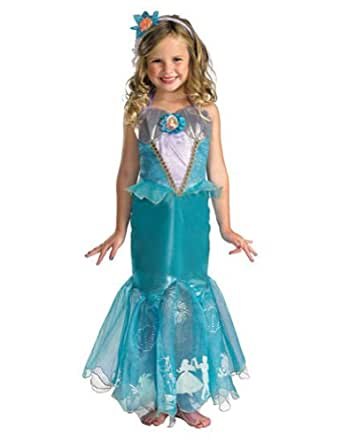 Amazon.com: Ariel Prestige Toddler Costume 3T-4T - Toddler Halloween