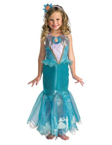 Baby-Toddler-Costume Ariel Prestige Toddler Costume 3T-4T Halloween Costume