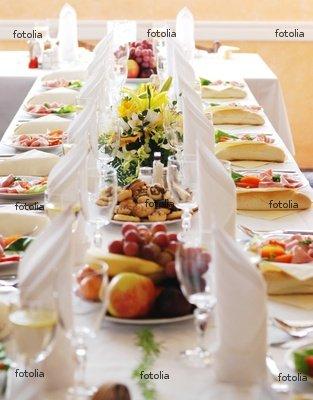 "Wallmonkeys Peel and Stick Wall Graphic - Wedding Banquet - 36""H x 28""W"