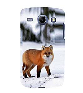 Fox Design 3D Hard Polycarbonate Designer Back Case Cover for Samsung Galaxy Core I8260 :: Samsung Galaxy Core I8262 Duos