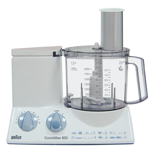 Best Price Overseas Use Only Braun K600 Food Processor with (ACUPWR (TM) Plug Kit - Lifetime Warranty) 220 Volt Will Not Work In The USA  Best Offer