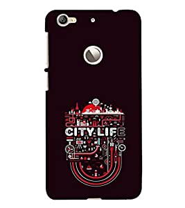 EPICCASE City life Mobile Back Case Cover For LeEco Le 1s Eco (Designer Case)