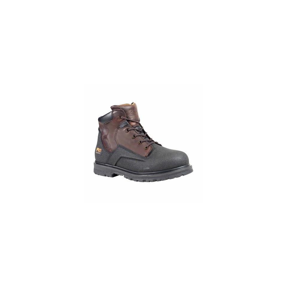 36a90d8b9b2e Timberland Pro 47003 Mens Pro Powerwelt Waterproof Steel Toe Boot in Medium  Brown