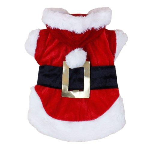 Colorfulhouse Christmas Dog Clothes Santa Dog Costumes Pet Apparel New Design (Xs)