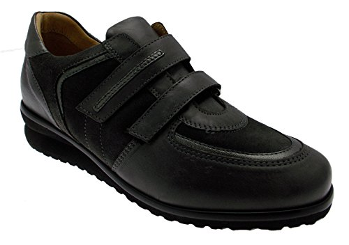 art C3676 pelle camoscio grigio plantare anatomico sneaker scarpa donna 36 grigio