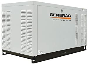 Generac QT03016ANSX 30,000 Watt Liquid Cooled Propane/Natural Gas Powered Home Automatic Standby Generator (CARB Compliant) (Discontinued by Manufacturer)