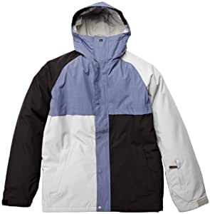 Quiksilver Men's Decade 10K Snow Jacket Blue Petrol Blue Size:FR : L (Taille Fabricant : L)