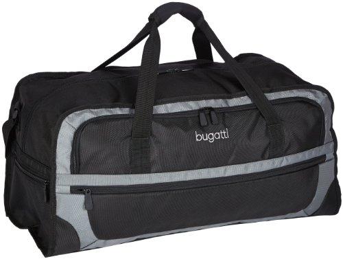 Bugatti Bags Reisetasche Ryan, schwarz/grau,