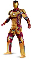 Disguise Marvel Iron Man 3 Mark 42 Deluxe Mens Adult Costume
