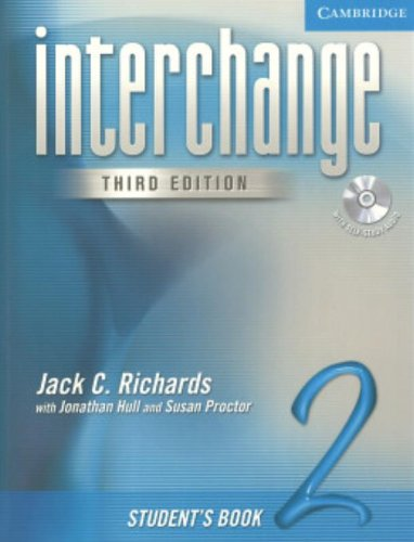 Interchange Student's Book 2 with Audio CD (Interchange...