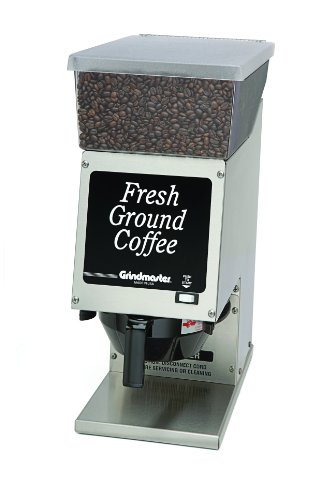Grindmaster-Cecilware 190SS Single Portion Grinder with Hopper, 6-Pound