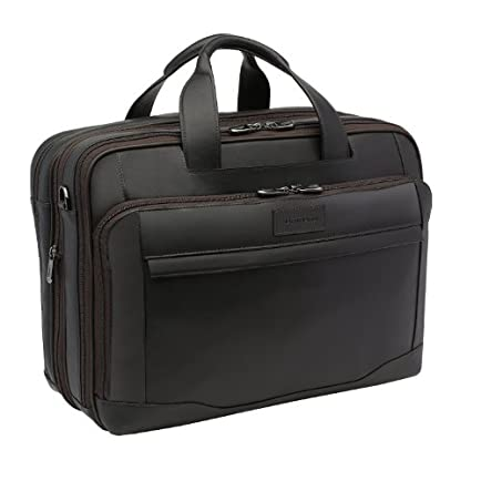 Hartmann Aviator Zipper Briefcase Expandable