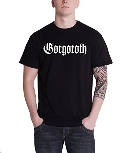 Gorgoroth - Top - Maniche corte  - Uomo nero Large