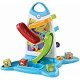 Fisher Price Electronic Baby Toy - Roller Blocks Play Wall Toddler Education Develops Motor Skills