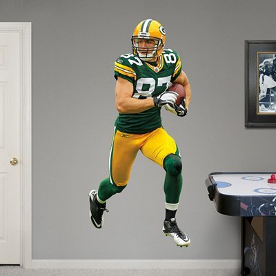 Fathead Green Bay Packers Jordy Nelson Wall Decals