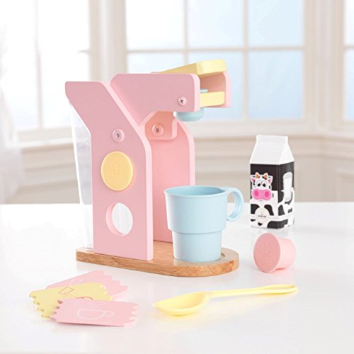 KidKraft 4 Pack Pastel Play Kitchen Accessories Home Garden Dining