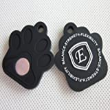 Holistic Negative Ion Silicone Pet Tag (Black)