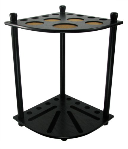 Buy Discount 8 Pool Cue Floor Rack - Black