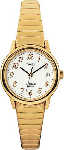 Timex Women's T20081 Easy Reader Gold-Tone Expansion Band Watch