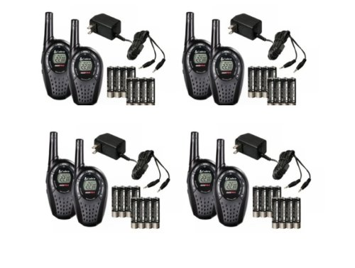 8 COBRA CXT235 MicroTalk 20 Mile FRS/GMRS 22 Channel Walkie