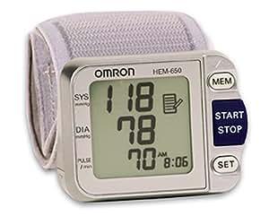 Omron HEM-650 Wrist Blood Pressure Monitor with APS (Advanced Positioning Sensor)