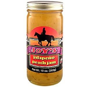 Peach Jalapeo Jam from Joy's Specialty Foods