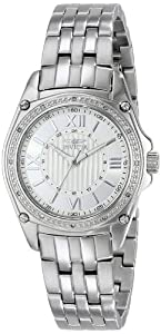 "Invicta Women's 16321 ""ANGEL"" Diamond-Accented Stainless Steel Bracelet Watch"