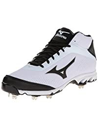 Mizuno Men's Vapor Elite 7 Mid Baseball Cleat