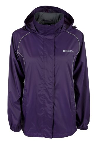 Mountain Warehouse Womens Pakka Waterproof Rainproof Jacket Coat