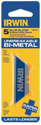 Irwin - Utility Knife Blade Bi-Material (20/Pk) - 586-2084200