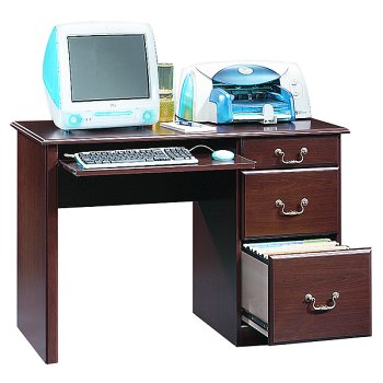 Sauder Lexington Computer Desk - Cherry Finish
