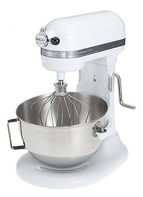 KitchenAid RKG25H0XWH 5-Quart Stand Mixer, White (Certified Refurbished) from KitchenAid