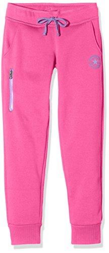 Converse Core, Pantaloni Sportivi Bambina, Rosa (Mod Pink), Medium (Taglia Produttore: 10-12Y)